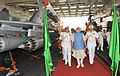 Prime Minister Narendra Modi aboard the INS Vikramaditya (23822210225).jpg