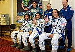 Prime and backup crew for ISS Expedition 13 (5135054976).jpg