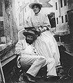 Primoli, Giuseppe - Jean-Louis Forain und Jeanne Bosc in einer Gondel (Zeno Fotografie).jpg
