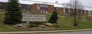 Prince Andrew High School - Image: Prince Andrew High School 2006 04 15 1