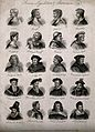Princes and other statesmen; twenty portraits. Engraving by Wellcome V0006828.jpg