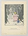 Print., Conte De Fées (Fairy Tale), Board 78, from La Gazette, No. 10, 1921 (CH 18614983).jpg