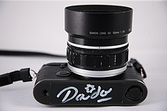 Private Collection - Leica M6 with Canon 50mm f0.95 signed by Daido Moriyama (5110931250).jpg