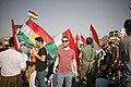Pro-Kurdistan referendum and pro-Kurdistan independence rally at Franso Hariri Stadiu, Erbil, Kurdistan Region of Iraq 13.jpg