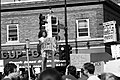 Protesters at 38th Street and S. Chicago Avenue in Minneapolis on Tuesday after the death of George Floyd in Minneapolis, Minnesota (49941851747).jpg