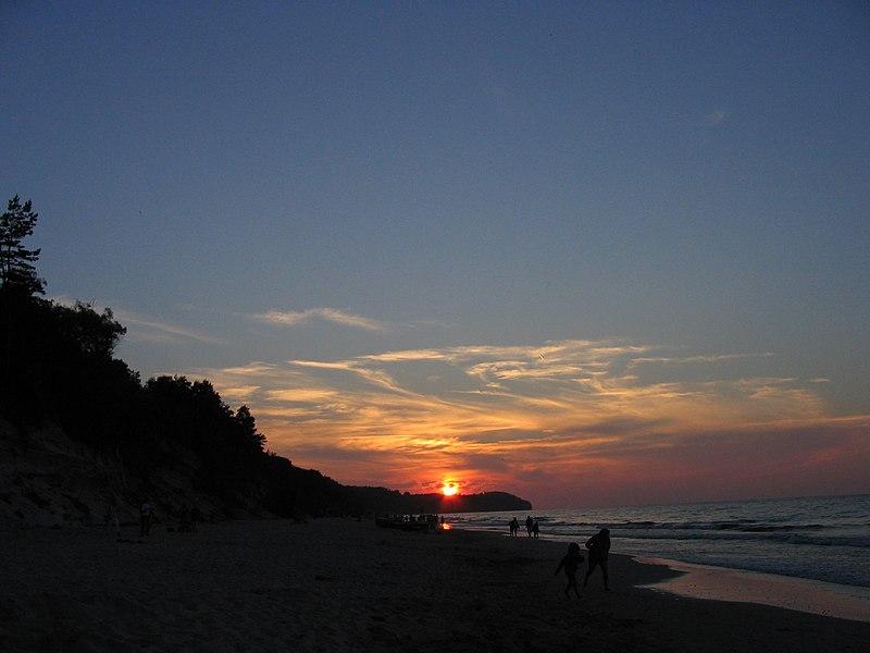 wczasy nad morzem - plaża Władysławowo