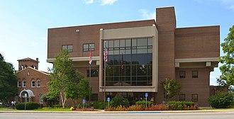 Pulaski County, Missouri - Image: Pulaski County MO Courthouses 20150715 8275