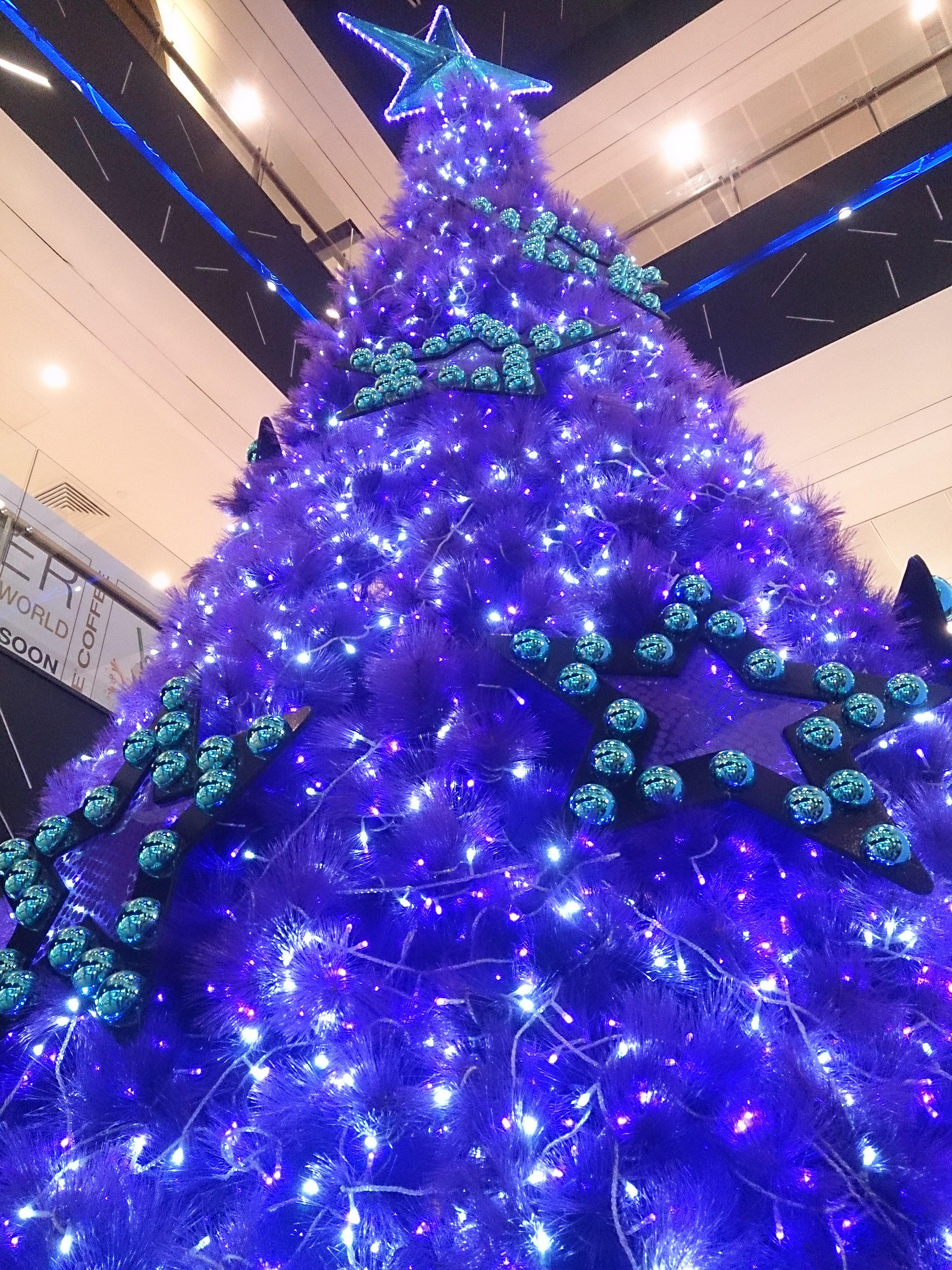 Purple Christmas Tree Decorating Ideas