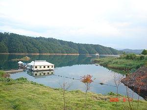 English: Qiandao Lake. Zhejiang, China.