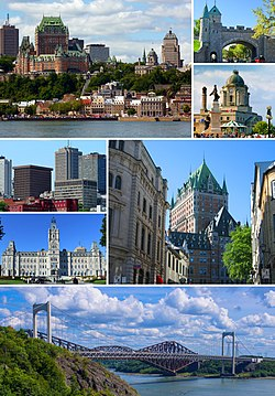 Skyline of Quebec