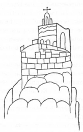 Oldest representation of the Quedlinburg from 956