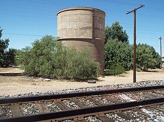 Queen Creek, Arizona - Image: Queen Creek Railroad Water Tank 1900 3