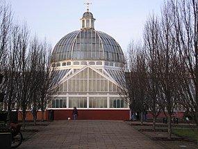 Queens Park, Glasgow - the Glasshouse.JPG