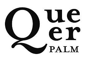 English: Queer Palm official logo Français : l...