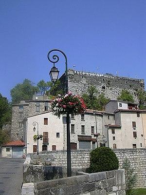 Quillan - Image: Quillanchateau
