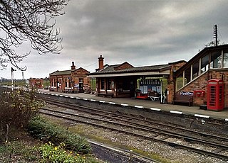 Quorn and Woodhouse railway station Heritage station on the Great Central Railway