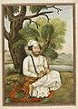 Qusuri or 'Kusuri, an Afghan of Kasur - Tashrih al-aqvam (1825), f.451v - BL Add. 27255.jpg