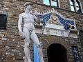 Rèplica del David de Miquel Àngel, Florència.JPG