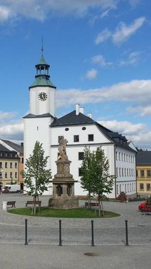 Rýmařov - Ŕymařov Town Hall located on the main square