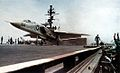 RA-5C of RVAH-12 on USS Constellation (CVA-64) 1967.jpg
