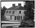 REAR VIEW OF HOUSE. NOTE ROOF - 72 Tradd Street (House), Charleston, Charleston County, SC HABS SC,10-CHAR,133-3.tif