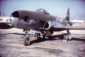 45th Reconnaissance Squadron - A 45th TRS RF-80A during the Korean War