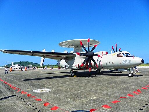 ROCAF E-2T 2501 Display at Chih Hang Air Force Base 20130601