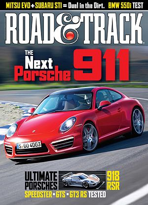 English: Road & Track, March 2011