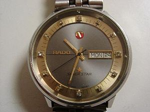 Rado (watchmaker) - Rado Silver Star, circa 1980