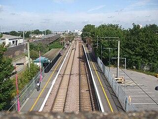 Rainham railway station (London) railway station in London, United Kingdom
