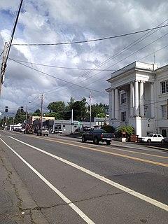 Rainier, Oregon City in Oregon, United States