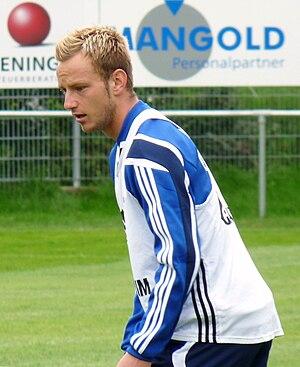 Ivan Rakitić - Rakitić with Schalke 04, in 2010.
