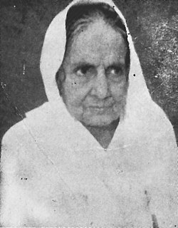 Ramadevi Choudhury Indian freedom fighter