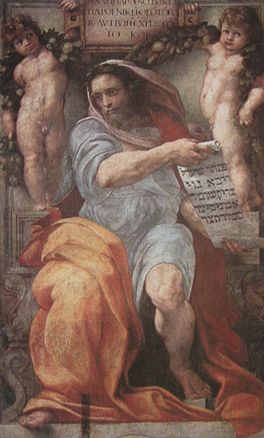 Jesaja door Rafael