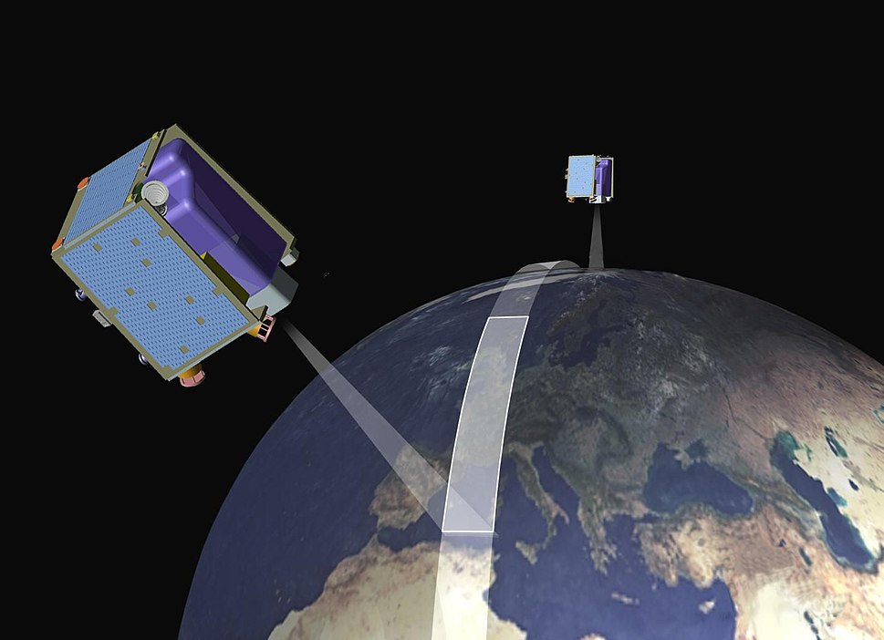 RapidEye Satellites Artist Impression