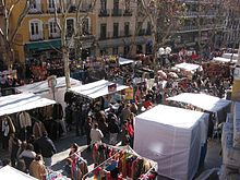 Madrid travel guide at wikivoyage - Cascorro madrid rastro ...