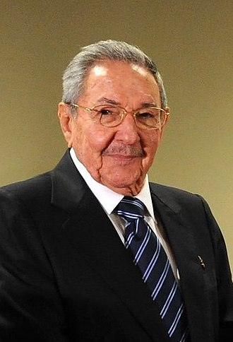 First Secretary of the Communist Party of Cuba - Image: Raul castro 2015 (cropped)