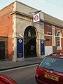 Ravenscourt Park stn south entrance.JPG