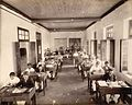 Reading room in The Times of India office in Bombay, November 1898.jpg