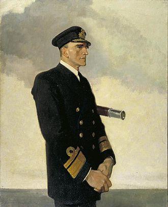 Reginald Tyrwhitt - Reginald Tyrwhitt, 1918, by Glyn Philpot