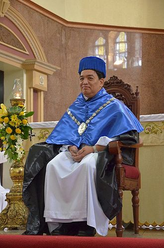 Rector (academia) - Herminio Dagohoy, the 96th Rector Magnificus of the Pontifical and Royal University of Santo Tomas, Manila
