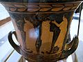 Red figure crater, Classical period, AM Agrigento, 120982.jpg