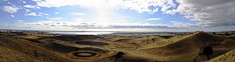 Red Rock (Victoria) - Image: Red rock panorama