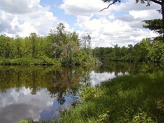 Saint Croix State Park - A lake in Saint Croix State Park