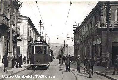 Reggio calabria corso garibaldi anni 20