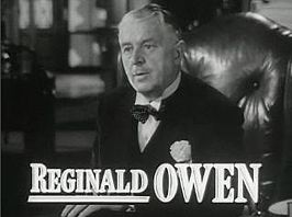 Reginald Owen in de trailer van The Miniver Story