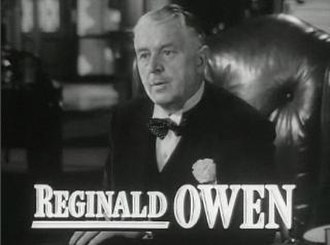 Reginald Owen - from the trailer for The Miniver Story (1950)