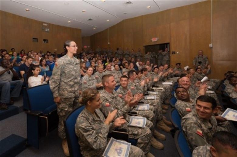 Regional Basic Orientation Training Class, Texas State Guard