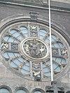relief voorstellende jezus, sint nicolaaskerk, amsterdam centrum