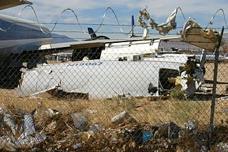 Air France Flight 4590 - The DC-10 involved, N13067, was scrapped at Mojave, California, in 2002.